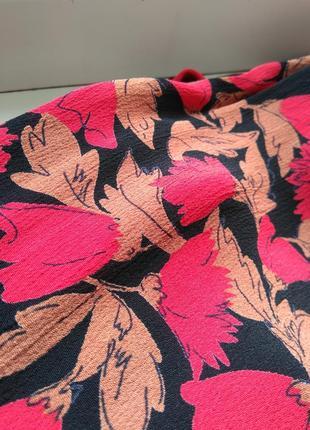 Вискозное легкое фирменное платье jeffrey and paula р.18 (индия)7 фото
