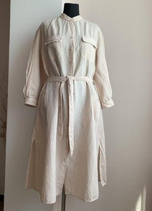 Легкое, льняное платье