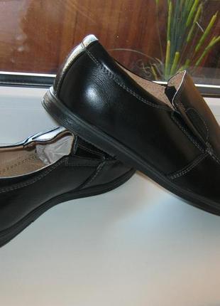 Шкільна шафа кожаные туфли-мокасины kangfu