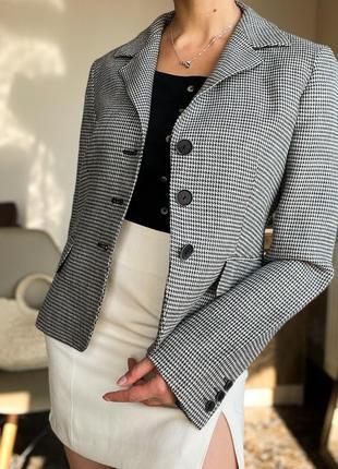 Шерстяной пиджак max mara оригинал