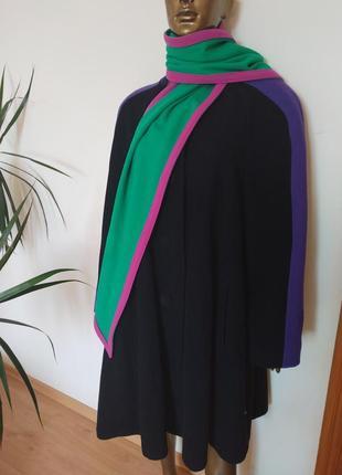 Gil bret стильнейшее пальто винтаж обьемные плечи