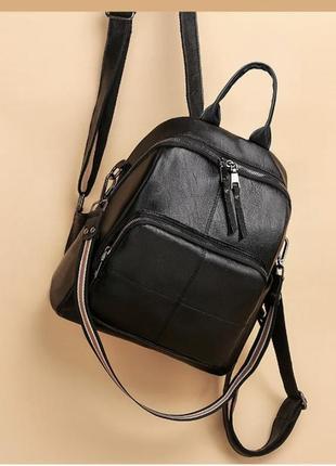 Новый стильный рюкзак сумка экокожа / классический шоппер / повседневный городской