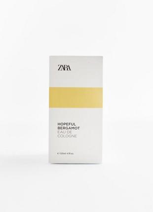 Hopeful bergamot от zara, 120 ml, оригинал