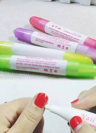 Корректор-карандаш для удаления лака (3 сменных стержня)