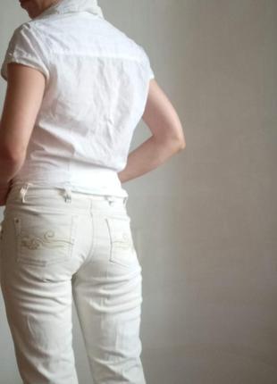 Комплект одежды для офиса двое шорт двое штанов джинсы пиджак и блузка