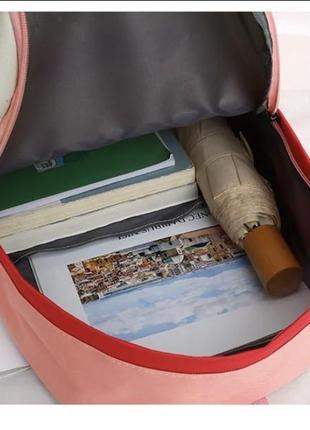 Новый набор 4 в 1 рюкзак в школу , городской качество / сумка / клатч / пенал3 фото