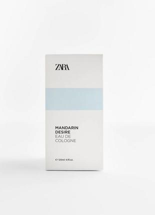 Mandarin desire от zara, 120 ml, оригинал