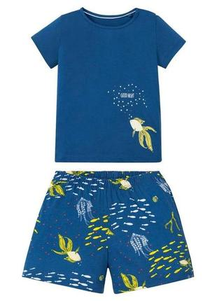Костюм или пижамка для девочки lupilu р.98-104