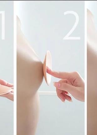 Многоразовые тканевые накладки наклейки пэстис стикини на липкой основе