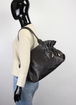 Оригинальная кожаная сумка mulberry liebeskind mcm