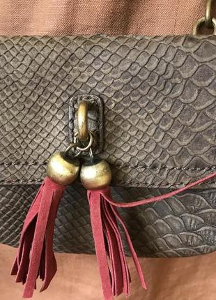 Маленькая сумка mustang