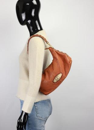 Фирменная кожаная сумка vera pelle liebeskind