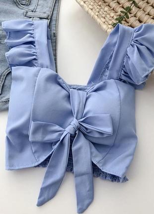 Кроп/блуза
