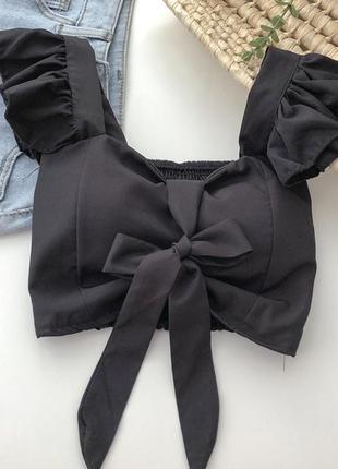 Топ/блуза с бантом