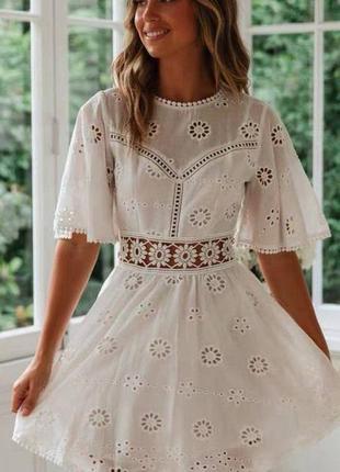 Нежное хлопковое платье