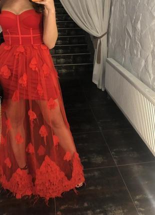 Платье (корсет + юбка)