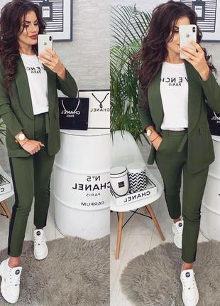 Цвета‼️костюм женский стильный пиджак брюки
