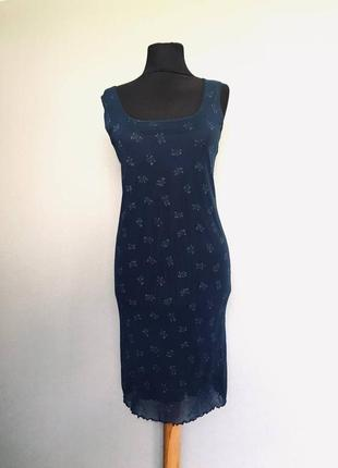 Шикарный винтаж сарафан платье в цветочек