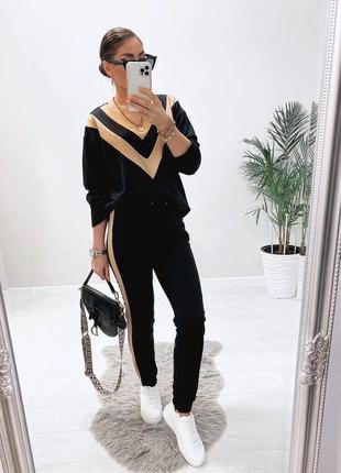 Женский стильный костюм тренд 2021