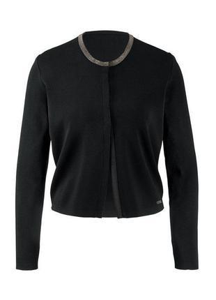 Модные вещи для пышных дам стильный кардиган- болеро tcm tchibo германия