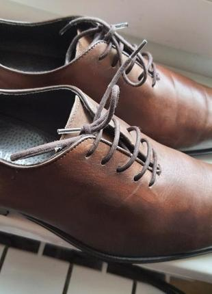 Португальские туфли san marina 41 р. натуральная кожа