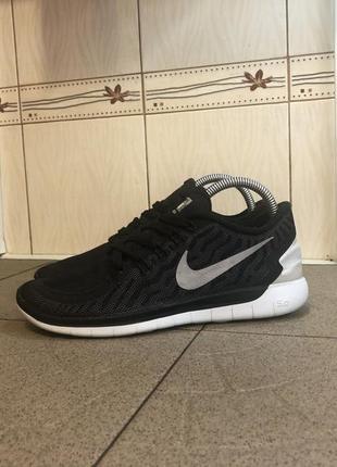 Чорні кросівки nike free 5.0 h20 repel