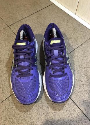 Фіолетові кросівки asics