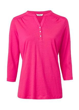 Лонгслив блуза трикотажная размер 42-50 и 58-62 наш tchibo тсм