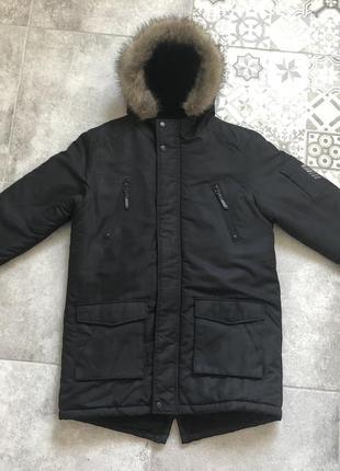 Удлиненная курточка по подростка