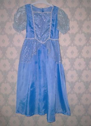 Карнавальное платье на девочку 8-10 лет