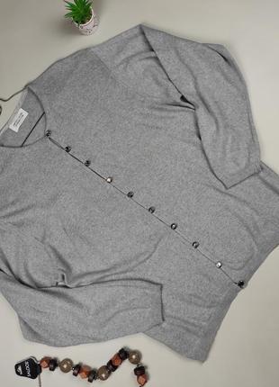 Кофта свитер джемпер кардиган серый модный united colors of benetton m