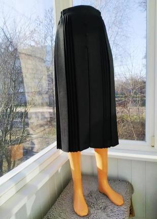 Миди плиссированная юбка плиссе