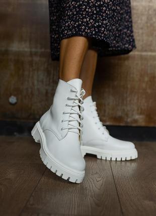 Деми ботиночки натуральная кожа