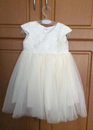 Шикарное платье на годик🔥🌸