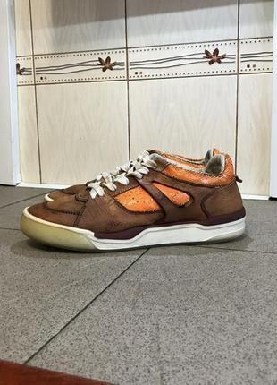 Шкіряні ботінки кросівки