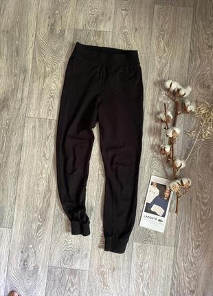 Чёрные штаны джогеры размер 6 хс с asos