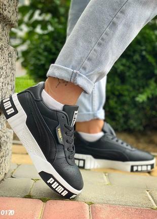 Кожаные кроссовки puma3 фото