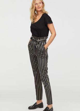 Крутейшие брюки в полоску от h&m