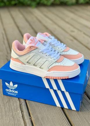 Шикарные женские кроссовки adidas drop step pink наложенный платёж