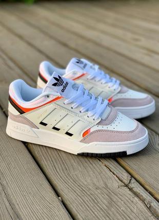 Шикарные женские кроссовки adidas drop step white grey наложенный платёж