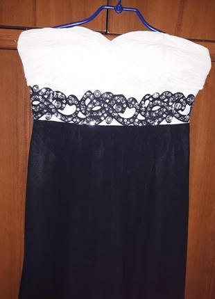 Платье сарафан вечернее длинное нарядное выпускной праздник торжество