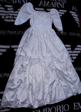 Свадебное платье белого цвета костюм на хеллоуин хэллоуин  фотосессии маскарад