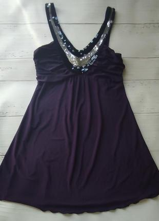 Мини платье туника