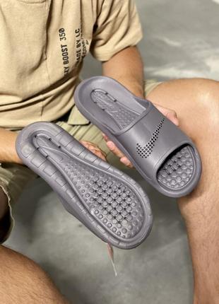 Шикарные мужские шлепки тапки сланцы nike victori one shower slide наложенный платёж3 фото