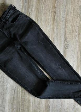 Крутые джинсы стрейч zara eur 38-40