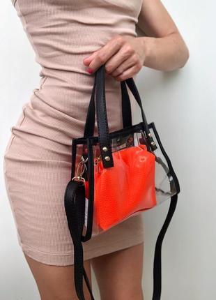 Яскрава та стильна жіноча сумочка