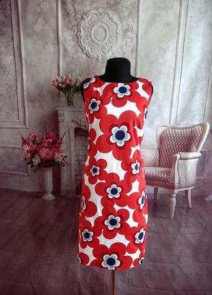 Стильное нарядное платье хлопок