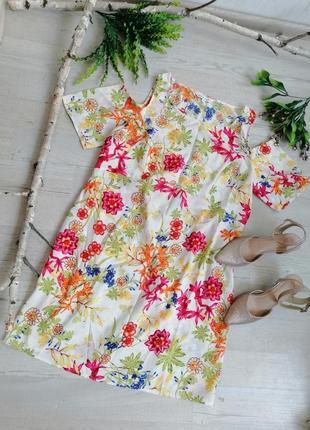 Яскрава легка сукня брендова