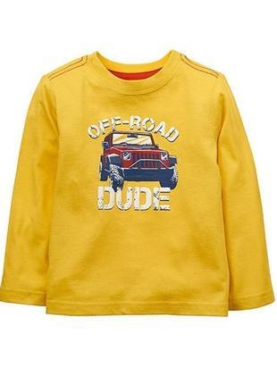 Кофта, свитер, лонгслив, реглан crazy 8 на мальчика 2 года
