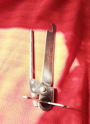 Консервный ключ-открывалка-нержавеющая сталь ссср винтаж